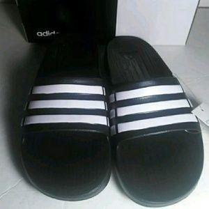 New Adidas Duramo Slide K G06799 Size 4Y